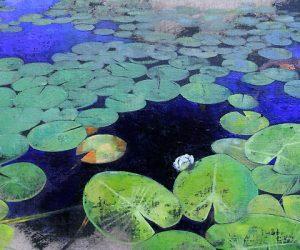 kris-engman-lilies-on-cargil-no-2-detail