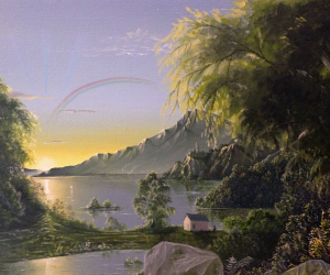 """Sunrise Over the Lake"" by Austin Stilphen"