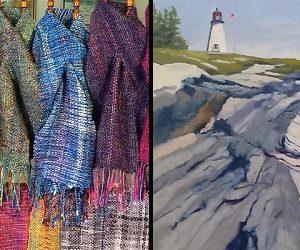jill-butke-scarves-john-butke-burnt-island-ledge
