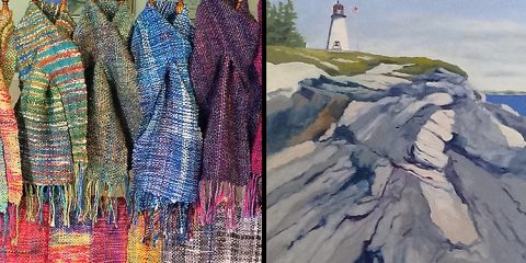 jill-butke-scarves-john-butke-burnt-island-ledge